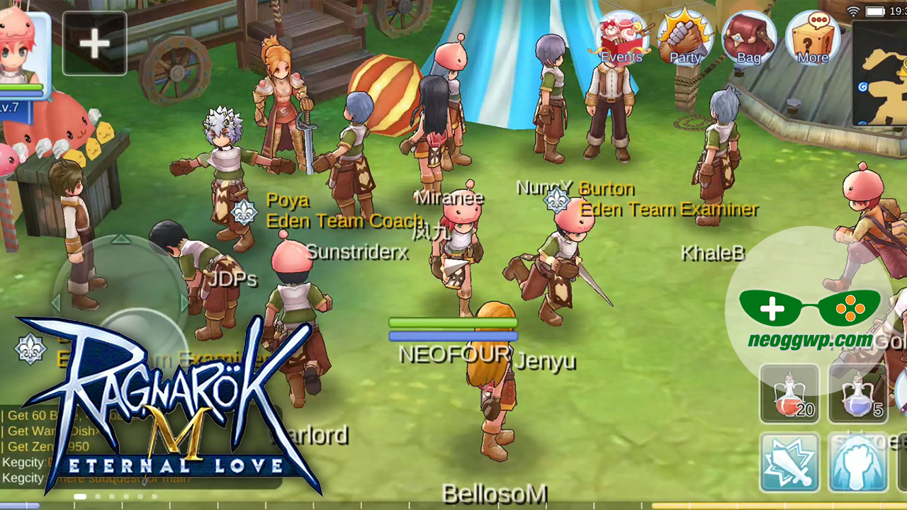 Ragnarok M Eternal Love Mmorpg Neo Ggwp New Mobile Game Android Ios Download Apk